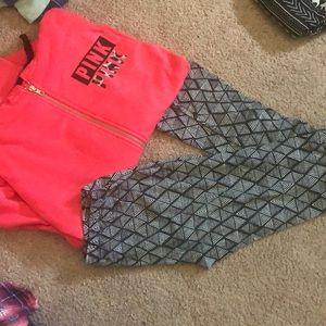 Sweatshirt and leggings